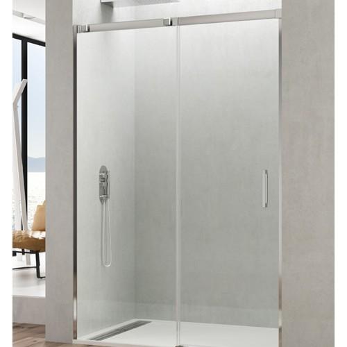 Mampara de ducha TEMPLE en acero inox