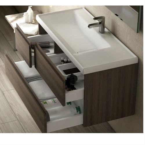 Mueble de baño CAIRO wengue