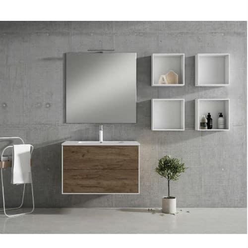 Mueble de Baño PUSH Nogal