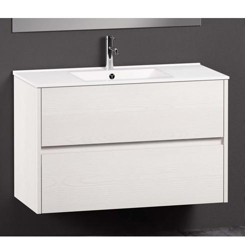 Mueble de Baño CHIC Basic Roble Blanco